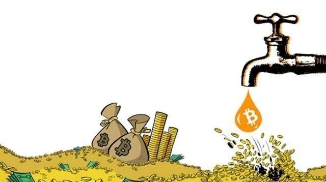 Los Faucets en el Bitcoin y las criptomonedas