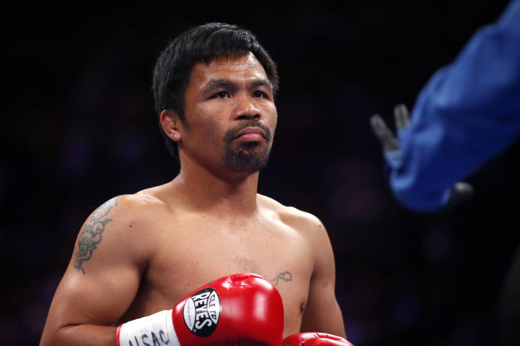 boxeador filipino lanzó su propia moneda digital