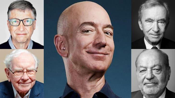 más ricos del mundo