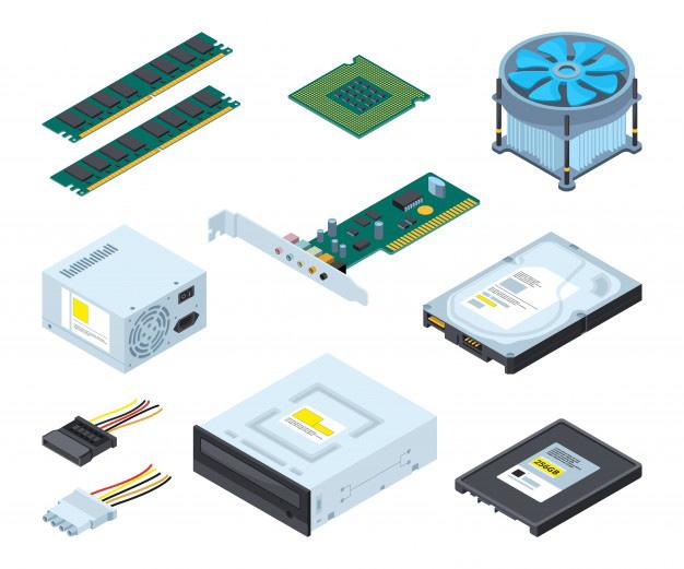 piezas de un ordenador