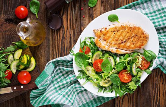 nicho de mercado de la comida sana