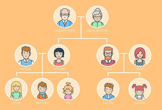 que es un árbol genealógico