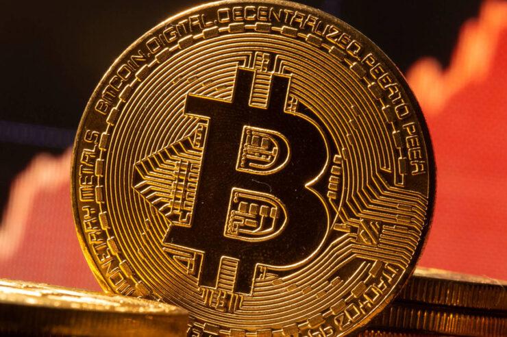 Bitcoin continúa aumentando