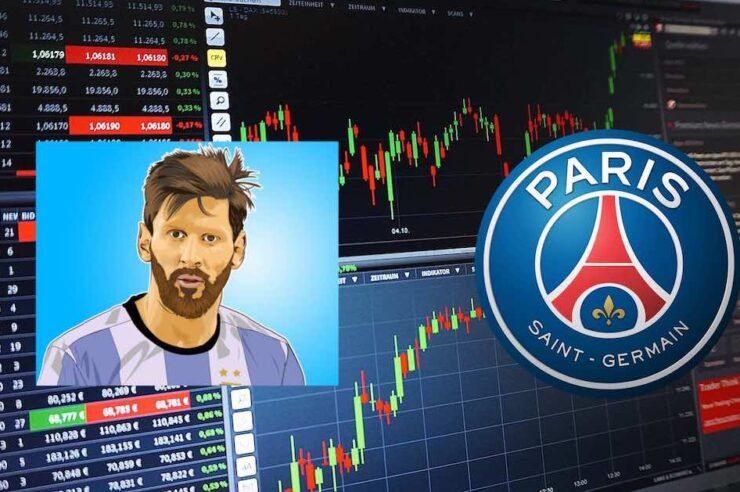 La fuerte influencia de Leonel Messi sobre los fan token del Barcelona y del PSG